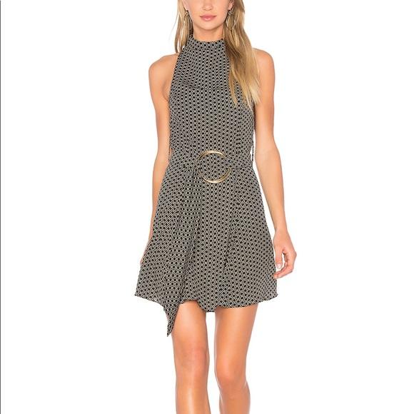 3077e5d31c8 Shona Joy La Luna High Neck Mini Dress. M 5cc445f19ed36dcba3c84919